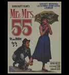 Bollywood POSTER; Mr. & Mrs. 55 (Yr - 1955)