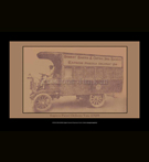 REPRODUCTION; Vintage Cars (Images); EXPRESS PARCEL DELIVERY VAN 1920