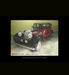 REPRODUCTION; Vintage Cars (Images); BENTLEY 3.5 LIT - Sports Saloon; 1934 (UK)