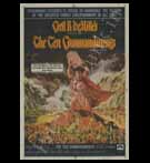Hollywood POSTER; The Ten Commandments (Yr - 1956, Re-released -1966)