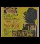 Hollywood POSTER; The Man Who Knew Too Much (Yr - 1956, Re-released - 1983)