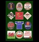 REPRODUCTION; Beer Mats And Coasters (Collage # 1)
