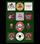 REPRODUCTION; Beer Mats And Coasters (Collage # 2)