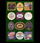 REPRODUCTION; Beer Mats And Coasters (Collage # 4)