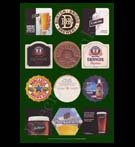 REPRODUCTION; Beer Mats And Coasters (Collage # 5)