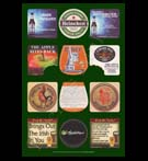 REPRODUCTION; Beer Mats And Coasters (Collage # 6)