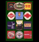 REPRODUCTION; Beer Mats And Coasters (Collage # 7)