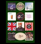 REPRODUCTION; Beer Mats And Coasters (Collage # 8)