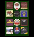 REPRODUCTION; Beer Mats And Coasters (Collage # 10)