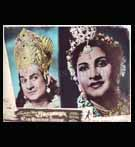 Bollywood LOBBY CARD; Ram Hanuman Yuddh - SET OF 6